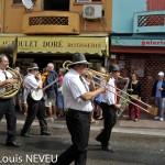 Parade du Caroline Jazz Band, dimanche 8 sept